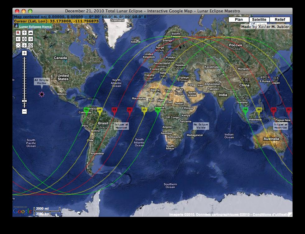 Google Map interactive window