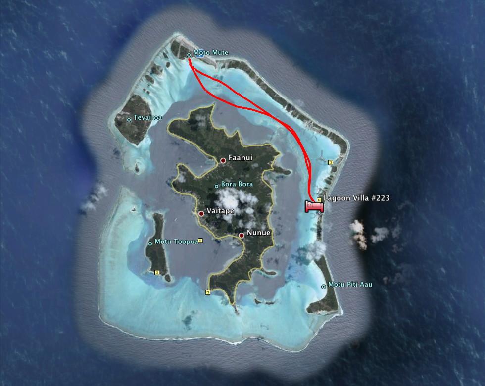 Bora Bora French Polynesia  Total Solar Eclipse of 2010 July 11