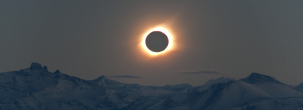 Viewing Site Total Solar Eclipse 2010 El Calafate Overlook Patagonia Argentina