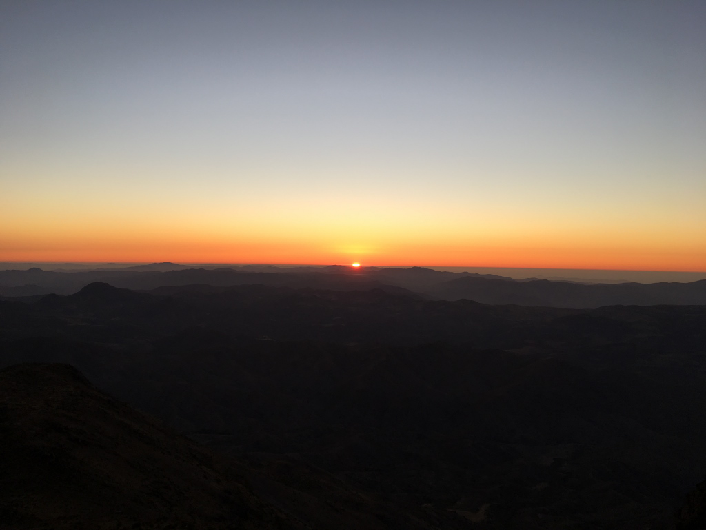Sunset Cerro Tololo Inter-American Observatory Eclipse Totale Soleil 2019