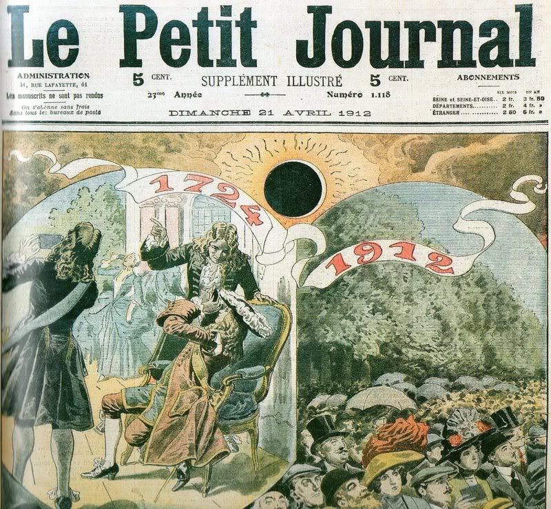 Le Petit Journal 1912 April 21 Eclipse