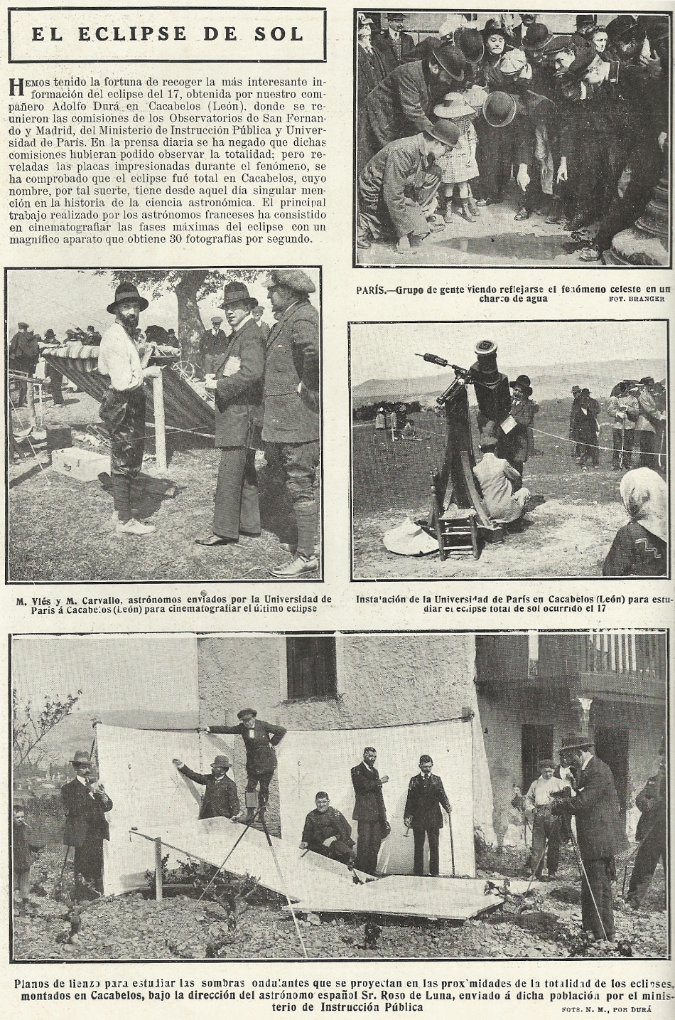 Mundo Nuevo 1912 April Eclipse
