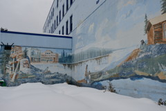 Mural Painting Downtown Fairbanks