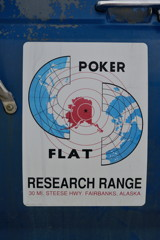 Logo Poker Flat Research Range