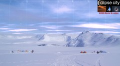Eclipse 2008 Sky Antarctica Vinson Base Camp