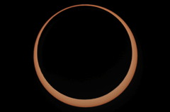 Annular Eclipse 2010 Annularity Third Contact