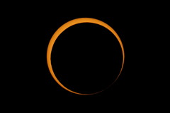 2012 Annular Solar Eclipse After Second Contact