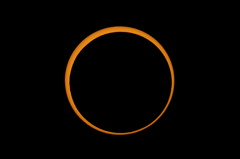 2012 Annular Solar Eclipse Between Second Contact Maximum
