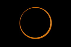 2012 Annular Solar Eclipse Between Maximum Third Contact