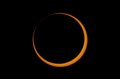 2012 Annular Solar Eclipse Before Third Contact