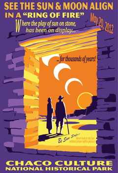 2012 Annular Solar Eclipse Chaco Canyon NHP