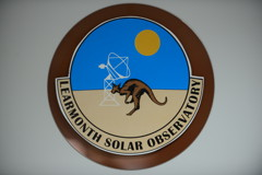 Learmonth Solar Observatory Logo