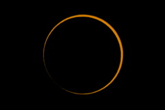 Annular Solar Eclipse 2016 After Second Contact