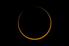 Annular Solar Eclipse 2016 After Third Contact