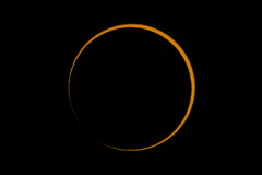Annular Solar Eclipse 2016 Before Second Contact