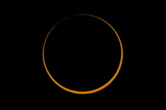 Annular Solar Eclipse 2016 Before Third Contact