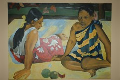 Reproduction Peinture Paul Gauguin Atuona Hiva Oa Marquises