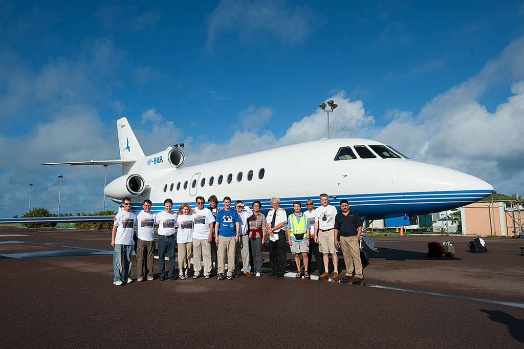 Group Photo Bermuda E-Flight November 2013 Eclipse Chaser