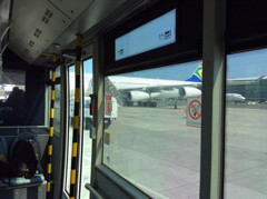 Bus Avion Vide Cap CPT 13 Septembre 2015