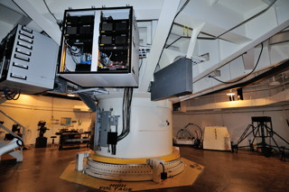 Table Rotative Télescope Solaire Richard Dunn Observatoire Sacramento Peak