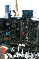 Hercules C-130 In-Flight Cockpit