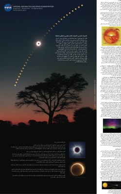 Affiche Eclipse Arabe