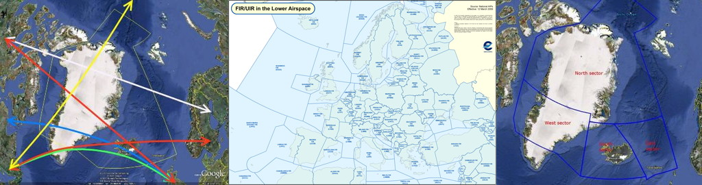 Isavia Air Traffic Control Sector Route