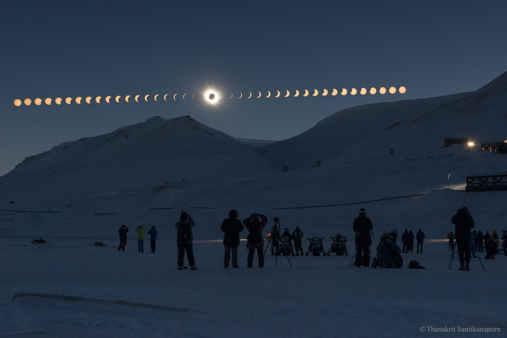 Total Solar Eclipse 2015 Svalbard Thanakrit Santikunaporn Norway