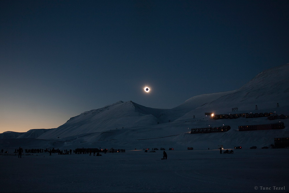 Total Solar Eclipse 2015 Svalbard Tunç Tezel Norway
