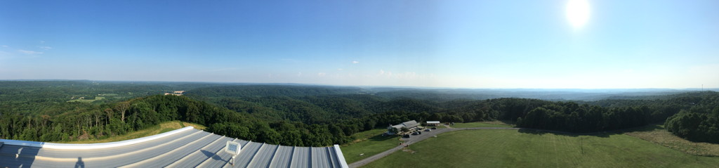Viewing Site Total Solar Eclipse 2017 Illinois Bald Knob Cross Scouting United States America