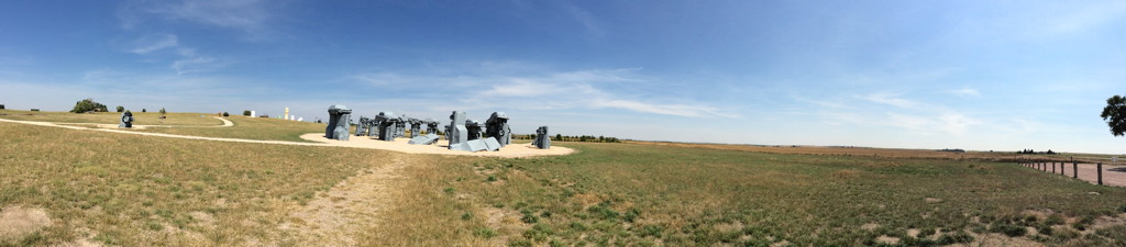 Viewing Site Total Solar Eclipse 2017 Carhenge Nebraska Scouting United States America