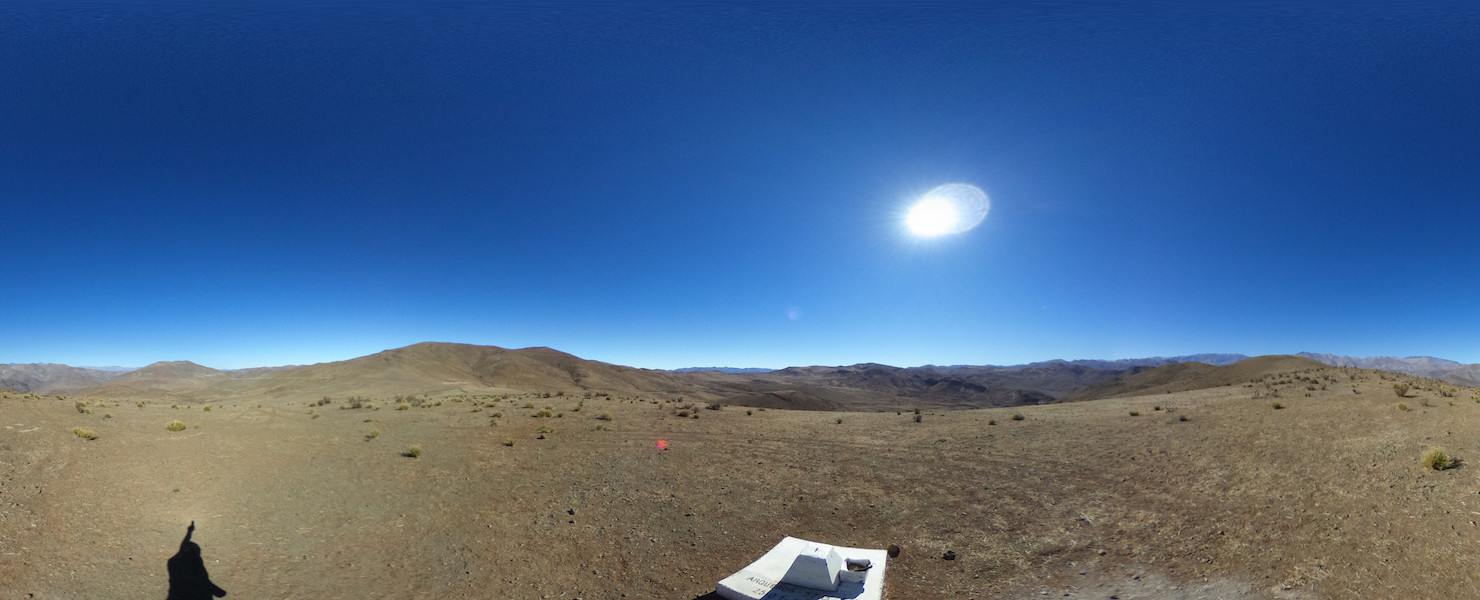360 Degree Panoramic View Summit Total Solar Eclipse 2019