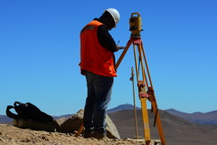 Surveyor Worker Cerro Paranal
