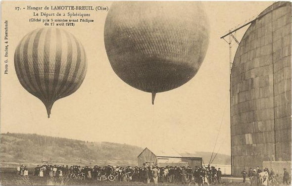 Eclipse 1912 Balloon