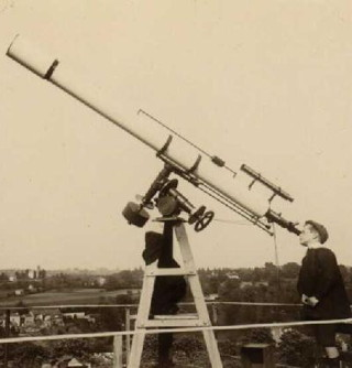 Eclipse 1912 Zeiss Telescope Louis Robach