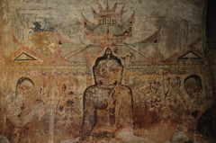 Fresco Mural Painting Sulamani Temple Bagan