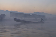 Inle Lake Morning Mist
