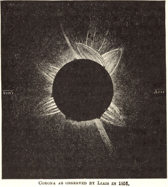 Total Solar Eclipse 1857