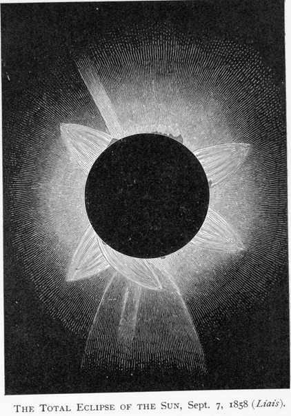 Total Solar Eclipse 1858