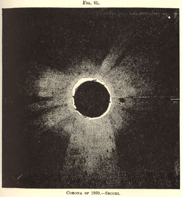 Total Solar Eclipse 1860