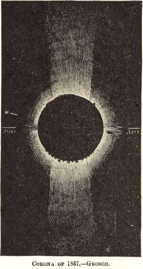 Total Solar Eclipse 1867
