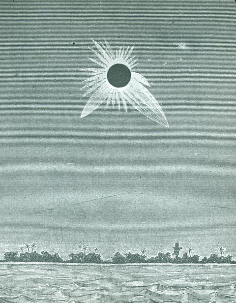 Total Solar Eclipse 1883