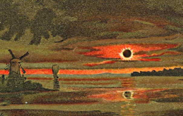 Total Solar Eclipse 1887