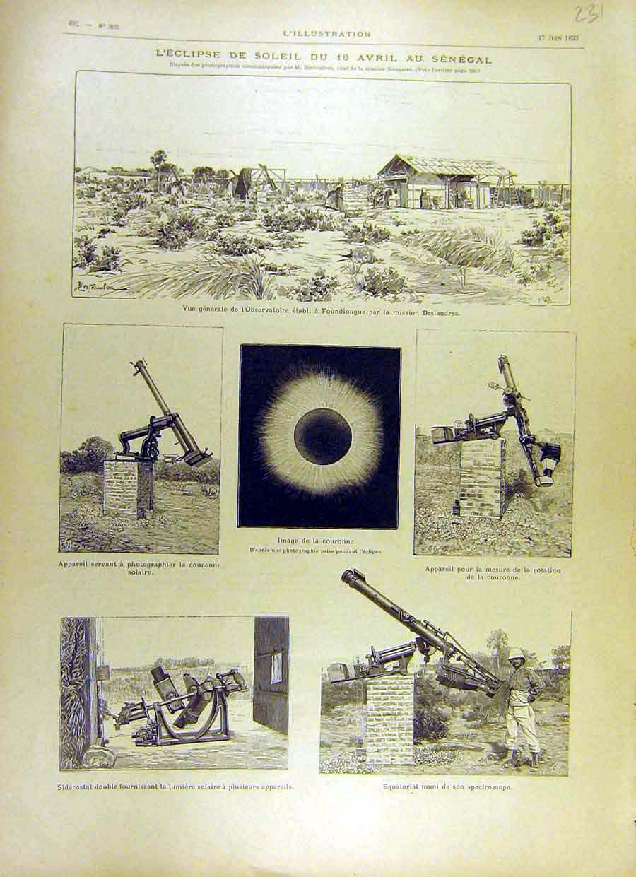 Total Solar Eclipse 1893