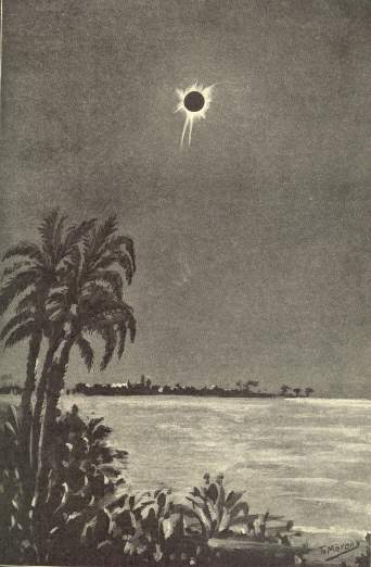 Total Solar Eclipse 1905