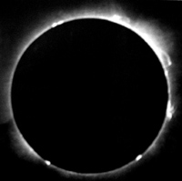 Total Solar Eclipse 1912