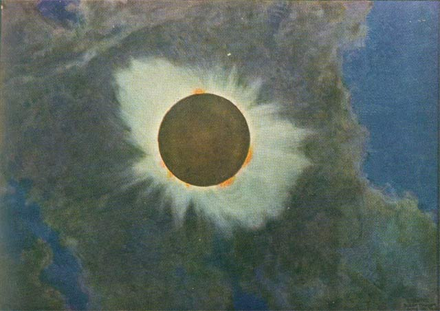 Total Solar Eclipse 1918