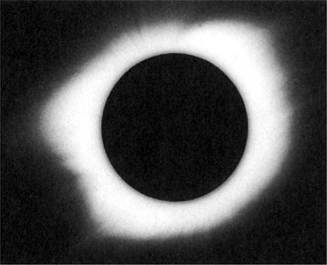 Total Solar Eclipse 1922