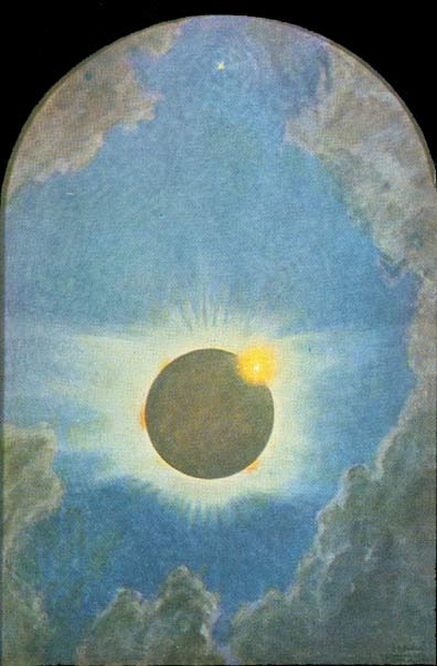 Total Solar Eclipse 1923