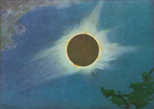 Total Solar Eclipse 1925